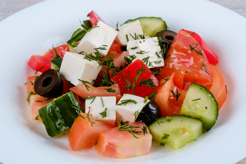 греческий салат для похудения отзывы